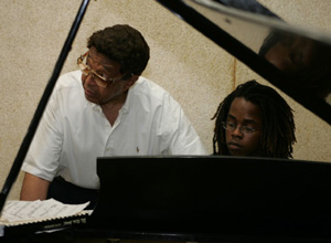 Billy Taylor with Student