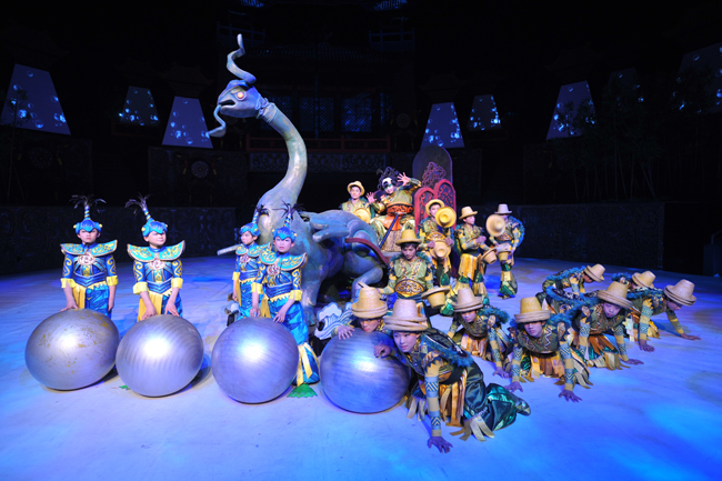 Cirque, Chinois, The National Circus Of The People's Republic Of China