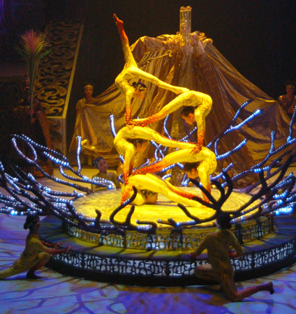 Cirque Chinois: Contortionists