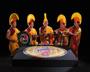 Sand Mandala Closing Ceremony