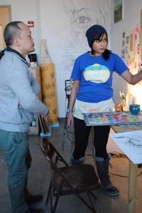 Yun-Fei Ji and Procheta Mukherjee Olson discuss her work.