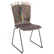 "Petula Bloomfield ""Sit If You Dare Chair"""