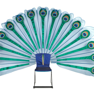 "Cassandra Holden ""Peacock Throne"""