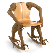 "Michael Melle ""Claw foot Armchair"""