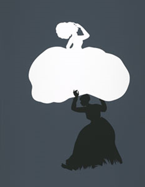 Kara Walker: The Emancipation Approximation (Scene #18), 1999 – 2000;