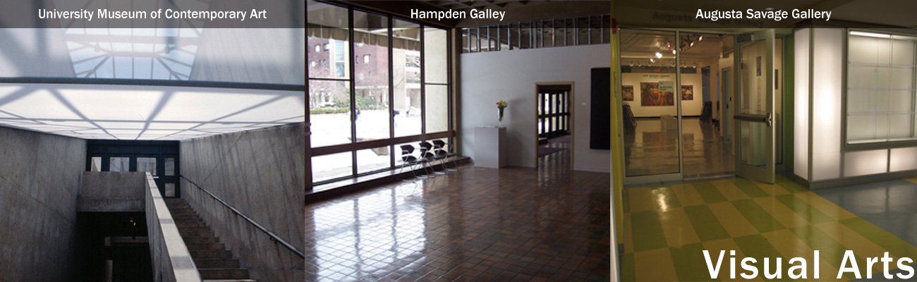 Visual Arts - University Museum of Contemporary Arts, Hampden Gallery, Augusta Savage Gallery