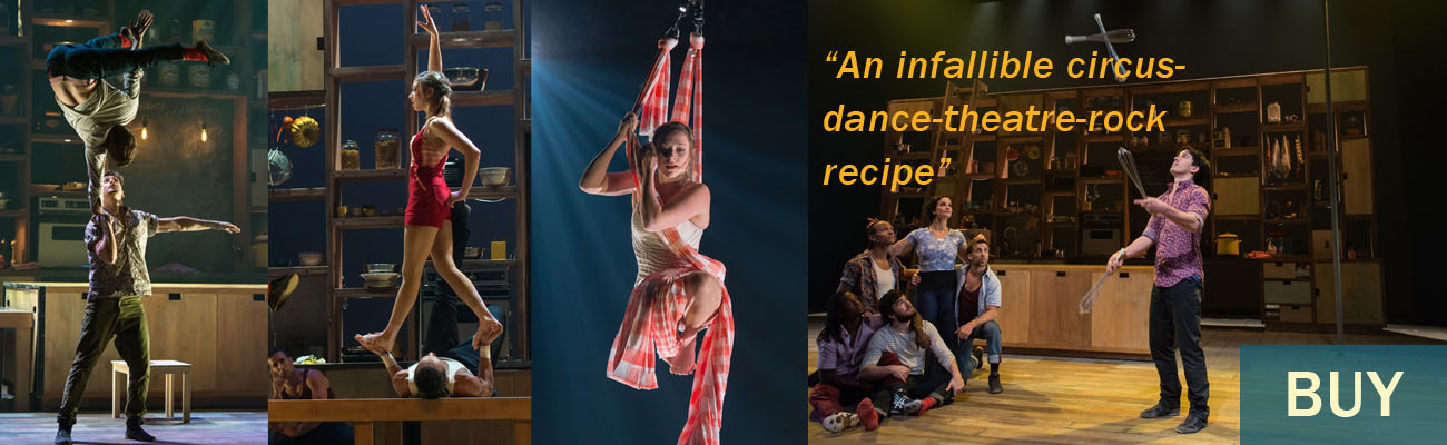 """An infallible circus-dance-theatre-rock recipe"" BUY"