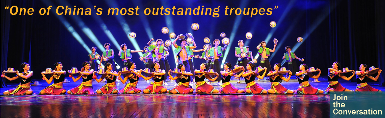"""One of China's most outstanding troupes"" Shanghai Join the Conversation"