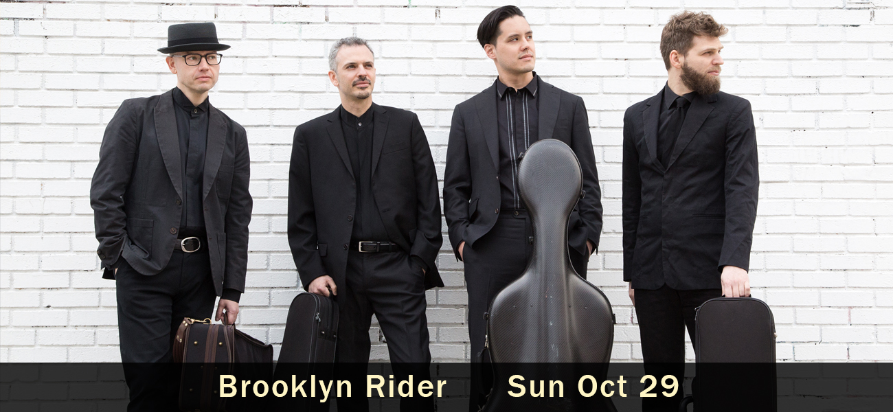 Brooklyn Rider Sun Oct 29