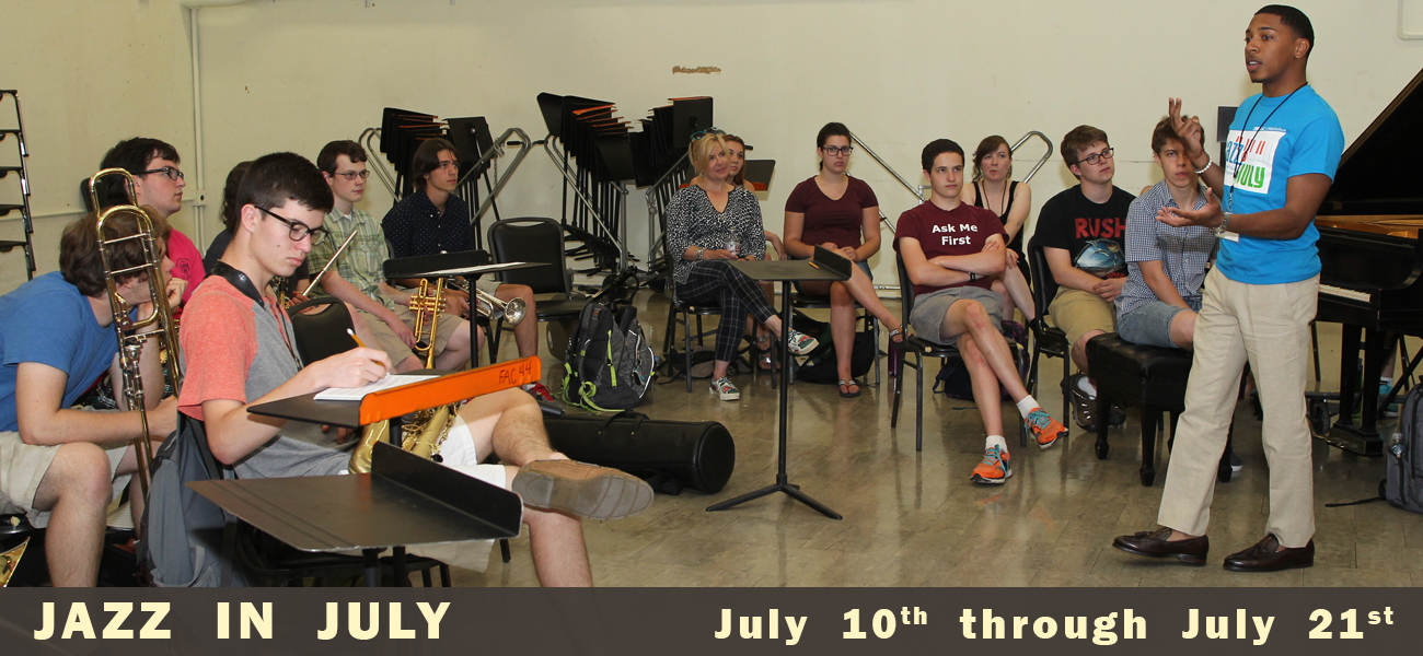 Jazz In July July 10 & 21