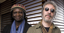 Hamid Drake | Adam Rudolph Duo with Ralph M. Jones