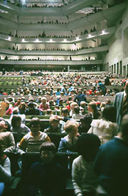 Audience in the FAC Concert Hall