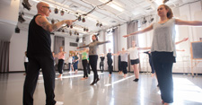 Stephen Petronio teaches Master Class