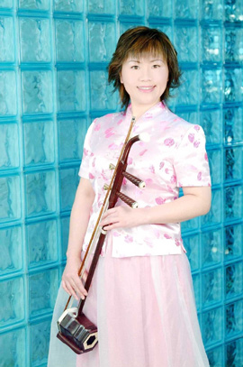 Chinese violinist Suzanne Shu