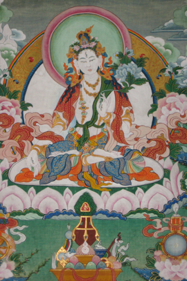 White Tara Long Life Blessing and Practice