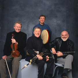 Paddy Moloney with The Chieftains