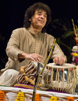 Zakir Hussain presents Masters of Percussion
