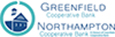 Greenfield Cooperative and Northampton Cooperative bank