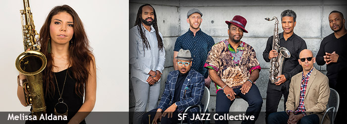 Melisa Aldana and SF Jazz Collective