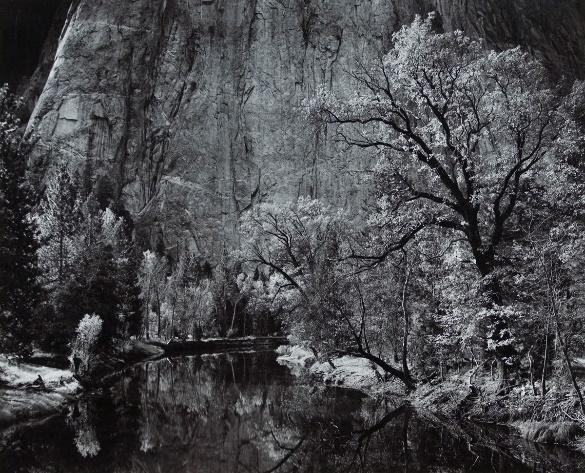 Ansel Adams Merced River