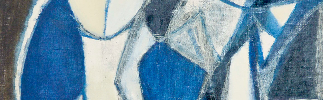 Avital Sagalyn, Two jugs, c. 1950s. (detail)