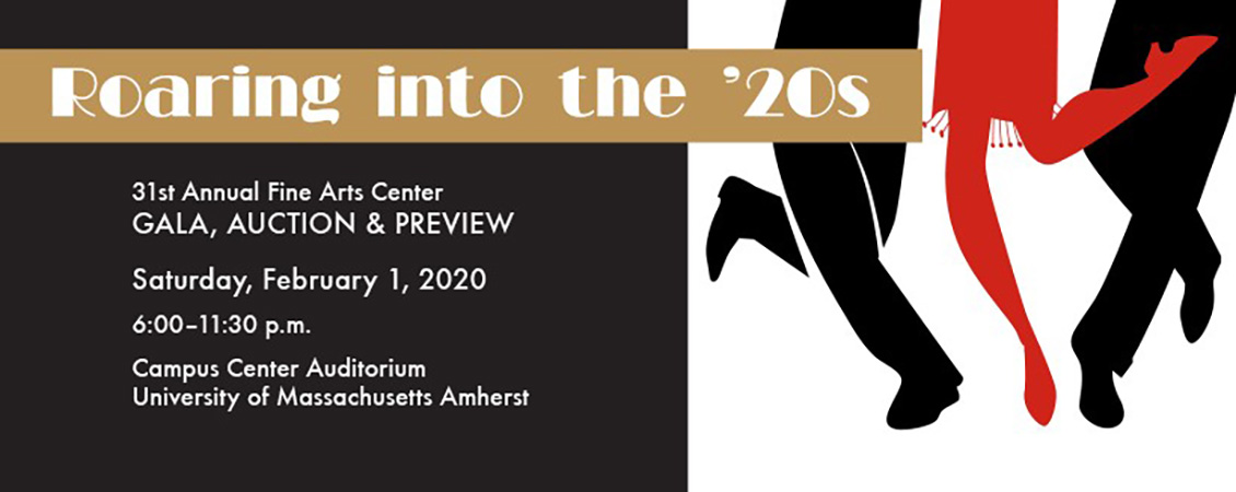 Roaring in the 20s 31st annual Friends of the Fine Arts Center Gala Feb 1 2020