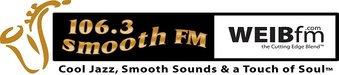 106.3 Smooth FM WEIB logo